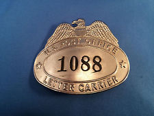mail carrier badge