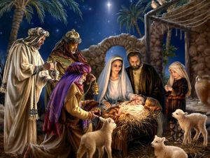 Christmas-Greeting-Card-Nativity-Scene-by-Dona-Gelsinger