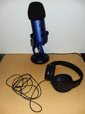 BlueYetiandHeadphones
